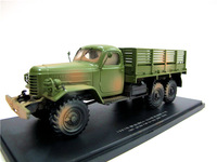 Alloy Model Gift 1:43 Scale China FAW CA 30A 1967 Off Road Military Truck Vehicles DieCast Toy Model Collection Decoration