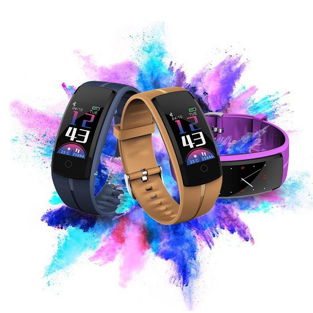 Smart ECG Bracelet Sports Bracelet Health Monitoring ECG Heart Rate Measurement Pedometer Multi-Functional Bracelet Qs100