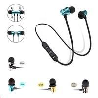 Auriculares deportivos con Bluetooth, manos libres, magnéticos, con micrófono, para iPhone, Xiaomi, Android, LG