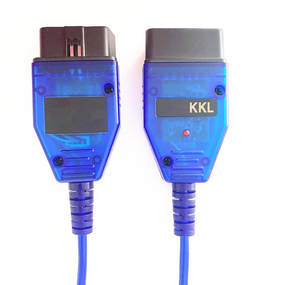 KKL409 RS232 Port VAG-COM 409 KKL 409 VAG Diagnostic FTDI FT232RL VAG KKL 409 Cable VAGCOM Cable 409-4