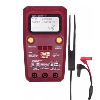 ESR02PRO Digital Transistor Tester SMD Components Diode Triode Resistance Capacitance Inductance Multimeter ESR Meter l c f inductance capacitance high precision meter lc 100s new
