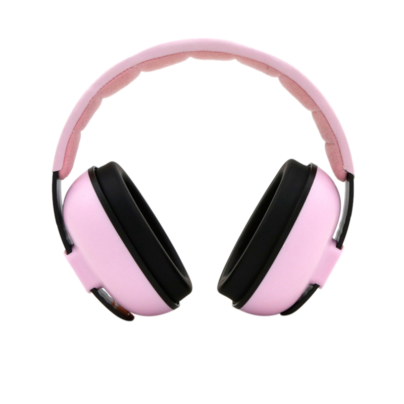 Adjustable Baby Earmuffs Hearing Protection Ear Defenders Noise Reduction For 3 Months-5 Years Old Child Baby