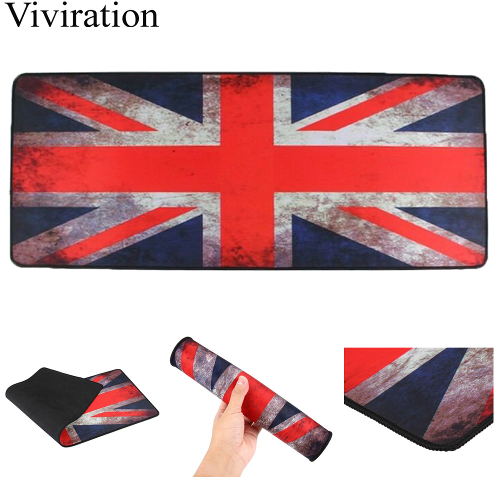 UK Flagge Tastatur <font><b>Pad</b></font> Gummi Anti-Slip Gaming Große Maus <font><b>Pad</b></font> 90X40 Cm <font><b>XXL</b></font> Locking Rand Maus <font><b>pad</b></font> Für Starcraft LOL Spiel-Player image