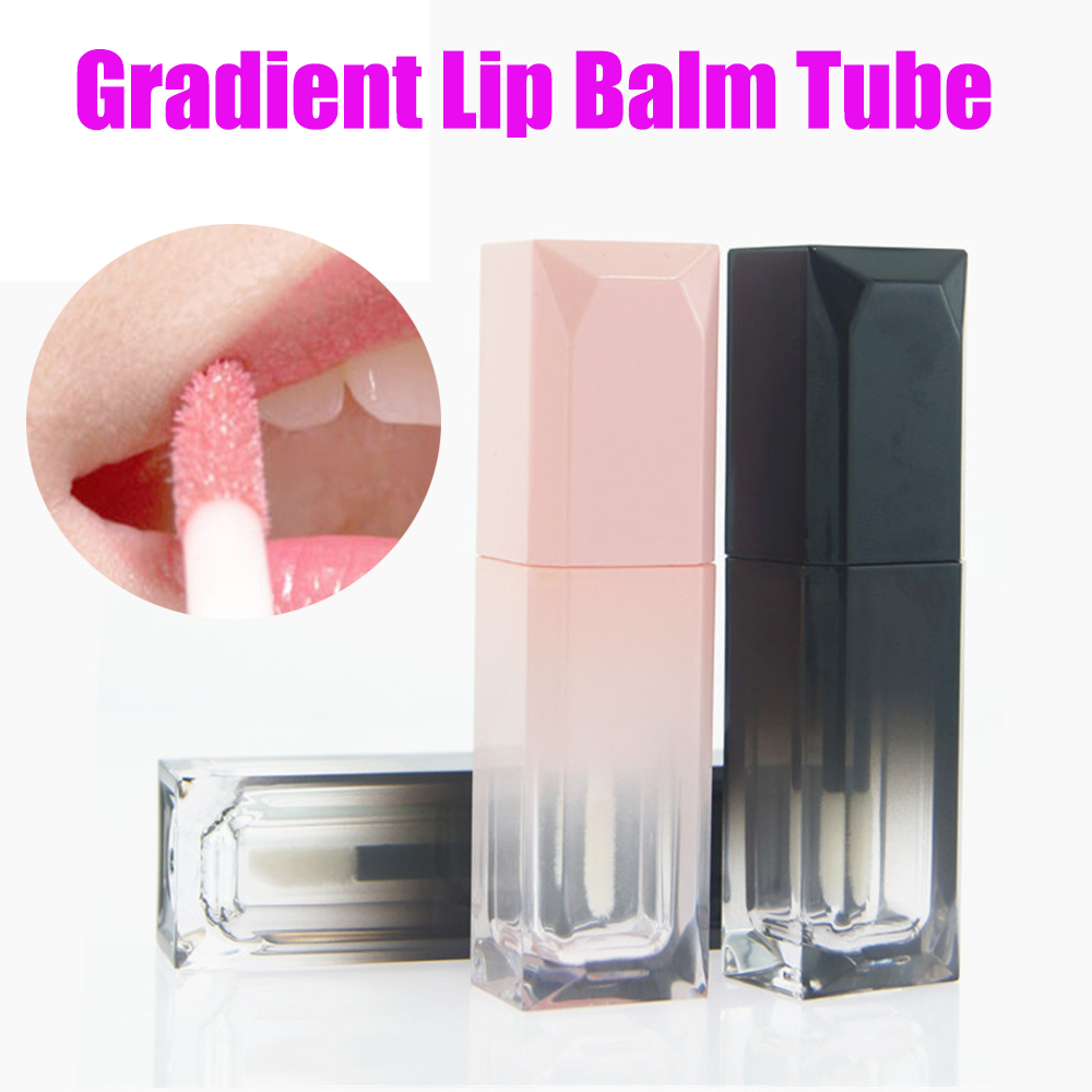Sweet Simple Empty Lip Gloss Tubes Travel Makeup Tools Cosmetic Containers Empty Lipgloss Lipstick Tube Lip Balm Bottles