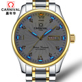 Карнавальные мужские часы автоматические механические топ бренды Роскошные Водонепроницаемые все стали HD светящиеся многофункциональные...