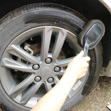 Nuevo Auto y coche llanta Waxing esponja de pulido cepillo de limpieza mango largo cepillo de cera limpiador de pintura cuidado