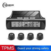 Vehemo TPMS Tire Pressure Alarm Car Alarm Systems Vehicles Tire Pressure Monitor