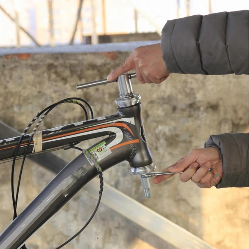 Bike Press Fit BB Tool Bottom Bracket Removal Installer Headset Remover Fix Kit