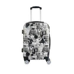 Модная креативная дорожная тележка Lugguge, универсальная тележка для путешествий, бизнес-поездки, офисный багажный замок, посадочная тележка
