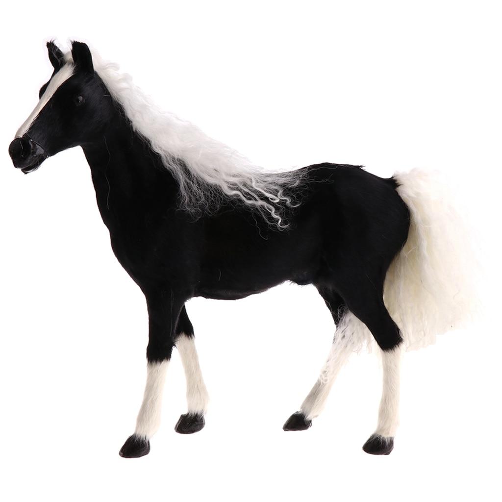 Innen Simulation Pferd Modell Tier Modell Ornament Figur Nette