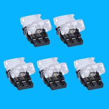 Quick Splice Wire Wiring Connector Waterproof 3528 2pin LED Strip Wire Cable 2 pin Electrical Crimp Terminal Blocks Conductor free shipping 20 pcs 2 pin way spring scotch lock connector 24 18awg wire for led strip quick splice connector cable crimp