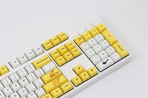 Image 3 - Pikachu XDA Keycaps PBT Dye subbed for Cherry MX Switches of 61 84 87 96 108 XD60 XD64 GK61 GK64 GH60 Poker Mechanical Keyboard