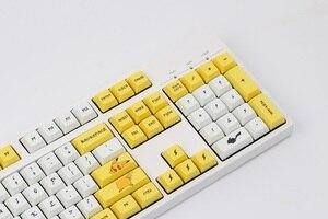 Image 3 - Клавиатура Pikachu XDA, колпачки для клавиш PBT, краситель для переключателей Cherry MX 61 84 87 96 108 XD60 XD64 GK61 GK64 GH60, механическая покерная клавиатура