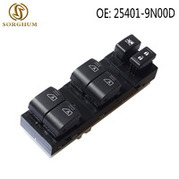 Master Power Window Switch Front for 2009 2012 Nissan Maxima SV Trim 25401 9N00D