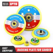Spta Backer Backing Plaat Pad 2Inch/3Inch/4Inch/5Inch/6Inch Haak & Loop Voor Air Sander Auto Polijstmachine Buffing Selecteer Maat