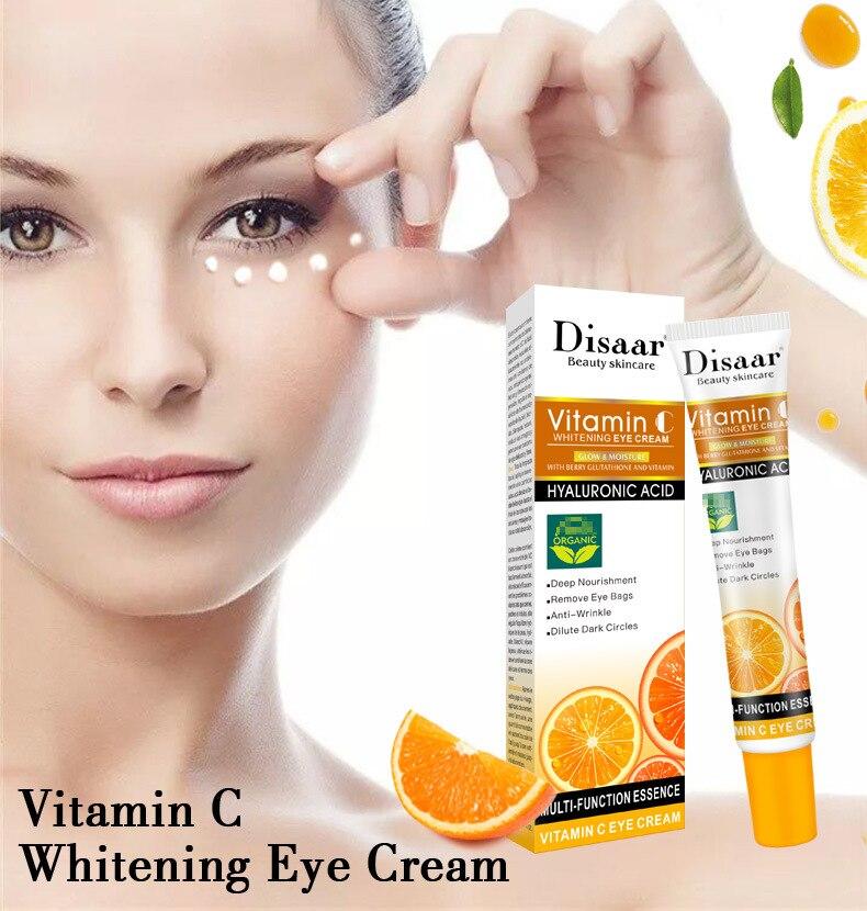 Витамин C для ухода за областью вокруг глаз, устраняет темные круги возле увлажняющий гель анти-крем для удаления кругов под глазами против ...