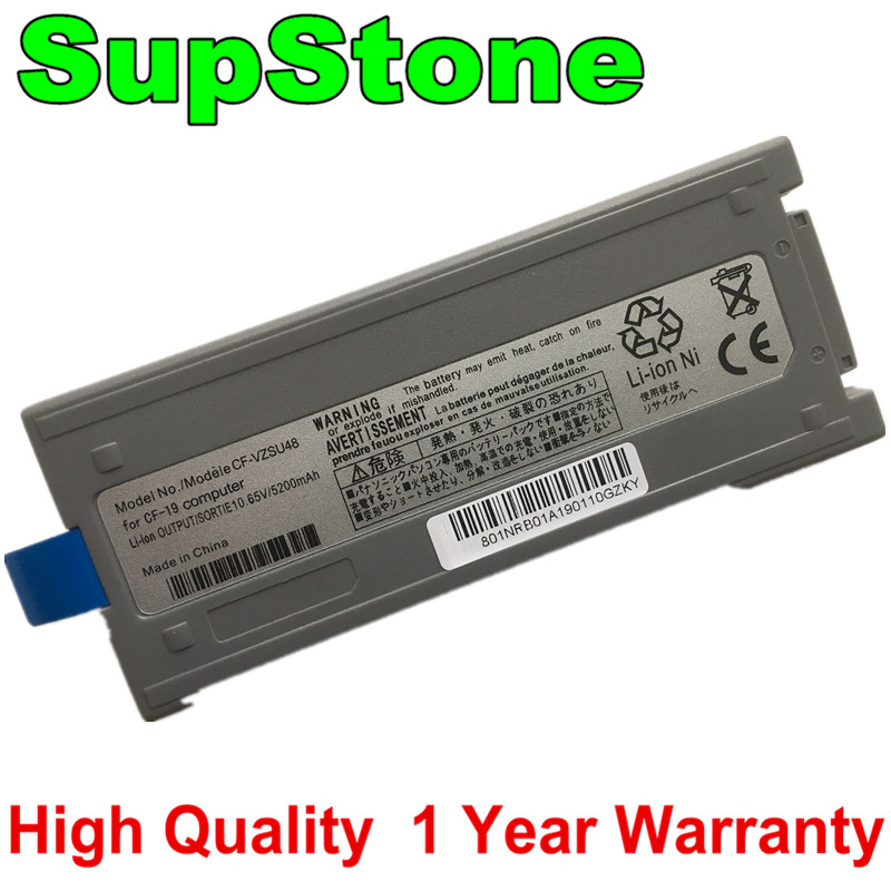 SupStone 6Cell New <font><b>CF</b></font>-VZSU48U Laptop Battery For Panasonic <font><b>Toughbook</b></font> <font><b>CF</b></font>-<font><b>19</b></font> CF19 <font><b>CF</b></font>-VZSU48 <font><b>CF</b></font>-VZSU48R <font><b>CF</b></font>-VZSU28 <font><b>CF</b></font>-VZSU50 image