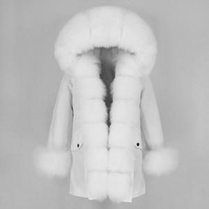 Image 3 - OFTBUY Waterproof Long Parka Winter Jacket Women Real Fur Coat Natural Fox Fur Collar Hood Thick Warm Streetwear Detachable New