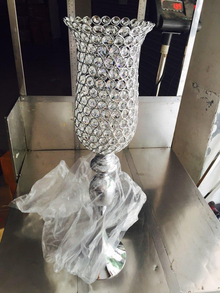 Taille: diamètre 17Cm X hauteur 70Cm sirène cristaux candélabres décoration mariage chandelier