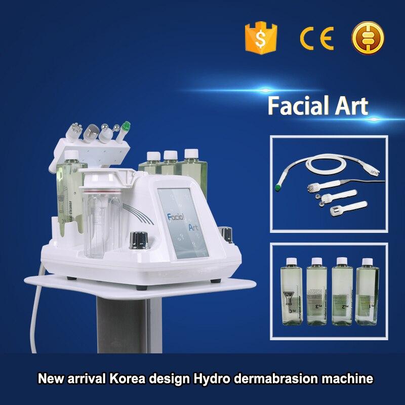 2019 New Hydra  RF Bio-lifting Spa Facial Machine / Aqua Facial Cleaning  Machine /water Peeling  Free Shipping