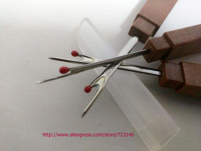 2018 new clover  lot Steel wood Handle Craft Thread Cutter Seam Ripper Stitch Unpicker Needle Arts Sewing Tools for pfaff janome