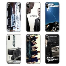 Covers Fast Furious 7 USA 2015 Paul Walker Voor iPhone XS Max XR X 4 4S 5 5S 5C SE 6 6S 7 8 Plus Samsung Galaxy J1 J3 J5 J7 A3 A5(China)
