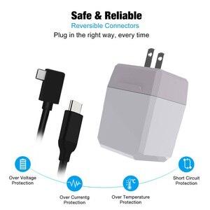 Image 5 - Besegad 2 in 1 AC adaptörü şarj TV Dock C tipi kablo ile nintendo anahtarı NS Lite akıllı telefonlar to doğrudan döküm ekran