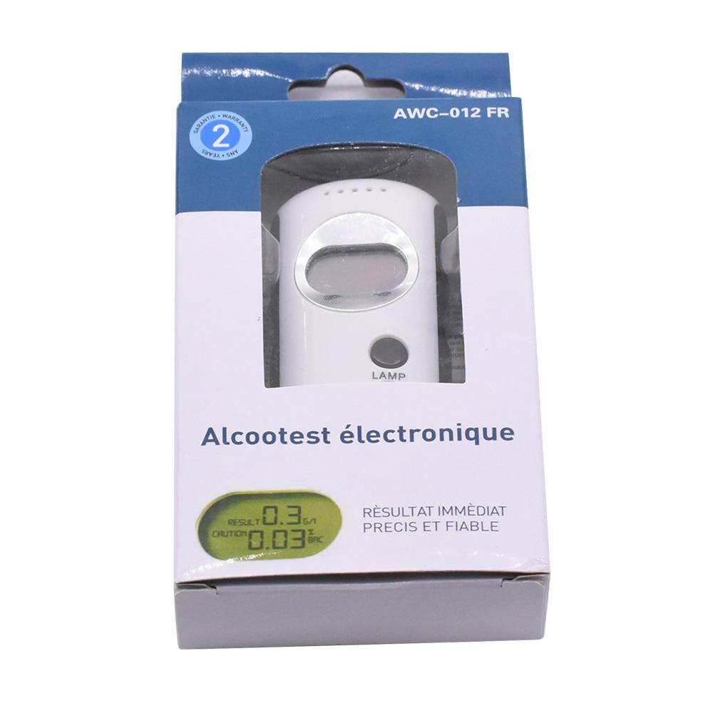 profissional exibicao respiracao policia digital alcohol tester bafometro portatil mini lanterna led alcohol tester respiracao