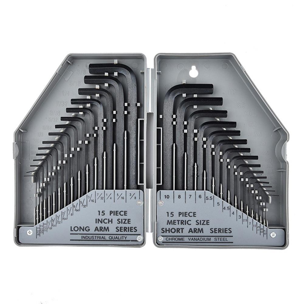 Hex Key Allen Wrench Short Arm Metric 3M QTY 100