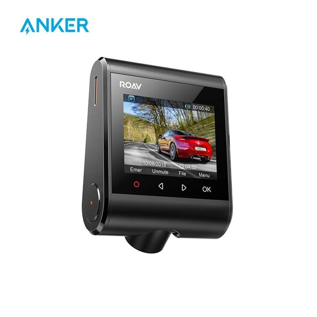Anker Roav Dash Cam S1, 소니 센서가 장착 된 대시 보드 카메라, Full HD 1080p, 나이트 호크 비전, 내장 GPS, 와이파이 및 광각 렌즈