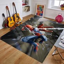 Spiderman Rug Baby Playmat Kitchen Room& Bathroom  Carpet Living Room Carpet Birthday Gift Doormat Carpet Mat Multiple Sizes