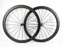 700C 45 مللي متر عمق الطريق الدراجة الكربون عجلة 25 مللي متر عرض الفاصلة/أنبوبي الطريق دراجة الكربون العجلات UD ماتي النهاية مع R36 محاور