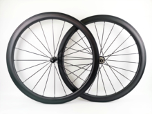 700C 45mm depth road bike carbon wheel 25mm width Clincher/tubular road bicycle carbon wheelset UD matte finish with R36 hubs