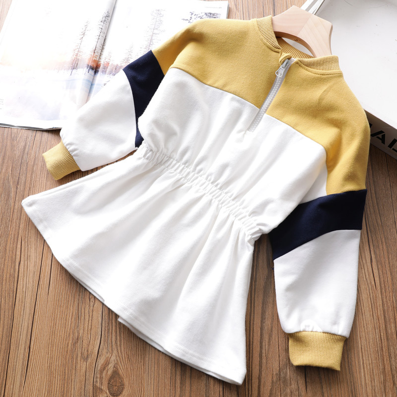 New 2019 baby girl spring dress Cotton kids clothes girls long sleeve princess dresses for children sport clothes costume 2