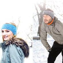 Earmuffs Headband Ear-Warmer Winter Women Unisex Fleece Fashion