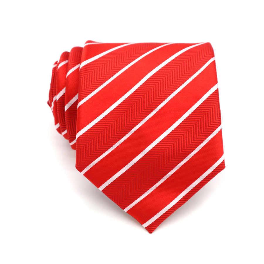 XT53-73 шелковый галстук на шею, различные полосы, корбаты, 8 см., классические галстуки, в горошек, официальные, вечерние, праздничные, розовые, для свадебного платья