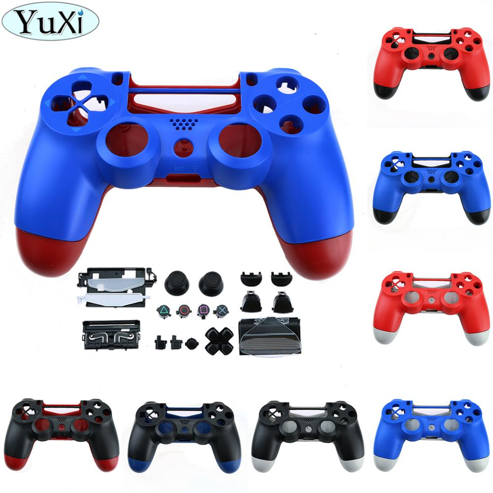YuXi Replacement Housing shell Thumb Grips Dpad For jds 040 JDM-040 for PlayStation 4 <font><b>PS4</b></font> Pro Slim Controller <font><b>Case</b></font> Cover image