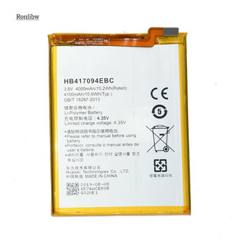 Ronlibw 10PCS 4000mAh HB417094EBC Phone Replacement Battery For Huawei Ascend Mate 7 Mate7 MT7-CL00 MT7-TL10 MT7-UL00