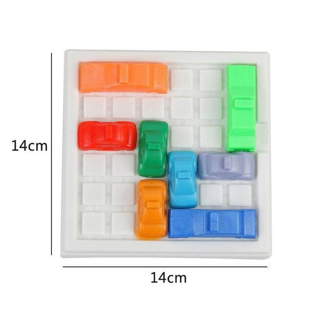 1 ensemble Intelligence évasion voiture de course Puzzle outil défi IQ enfants Puzzle jouets éducatifs labyrinthe jeu pour enfants livraison directe