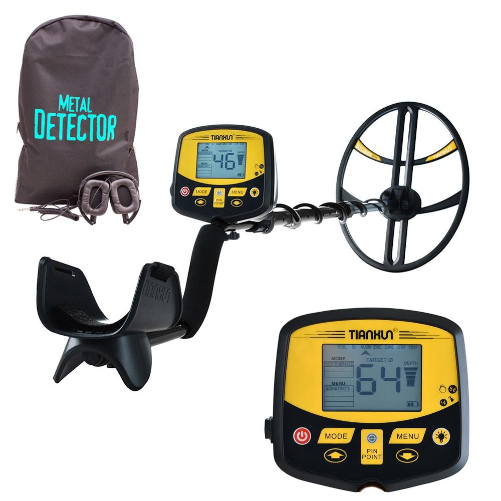 Detector de Metales subterráneo profesional TX-950, Detector de oro de alta sensibilidad, escáner Cazador de tesoros Discover Pro 5m