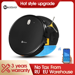 Robot vacuum cleaner wet mopping