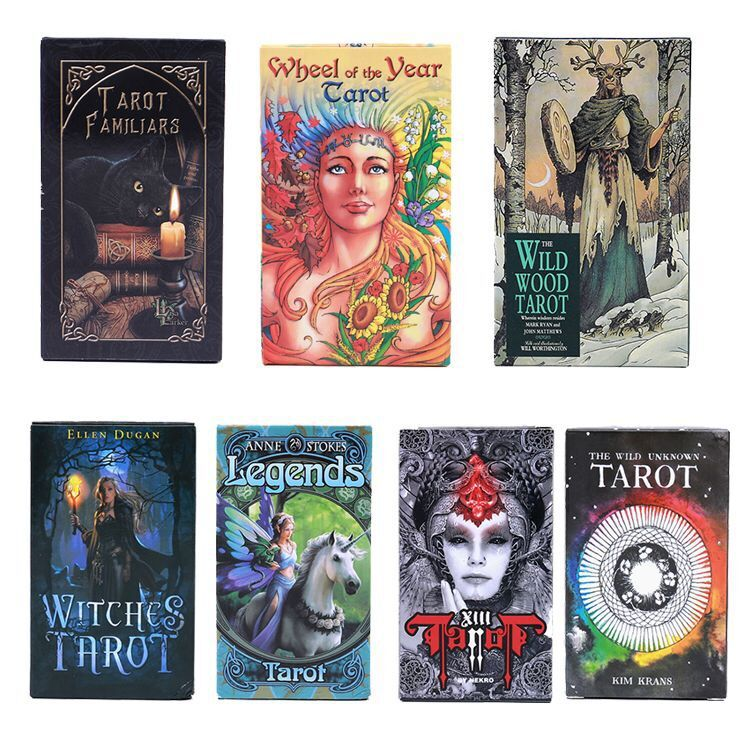 Hot Sale Magical Tarot English Edition Board Game Mysterious Tarot Family Party Cards Game