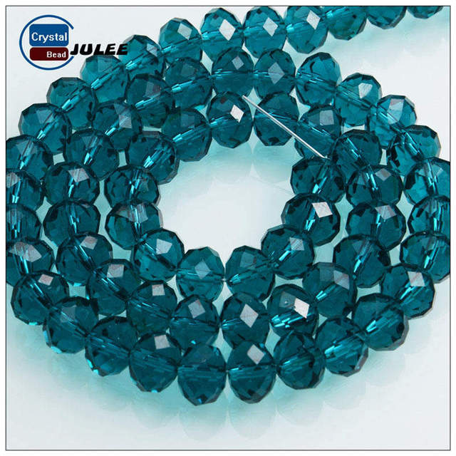 Crystal 8x10mm Faceted Rondelle Loose Beads Top Quality C5501