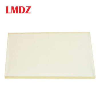 LMDZ 1Pcs 20x15cm Leather Craft Tools DIY Cutting Board Rubber Special Stamping Pad Transparent Hole Punching Protection Plat
