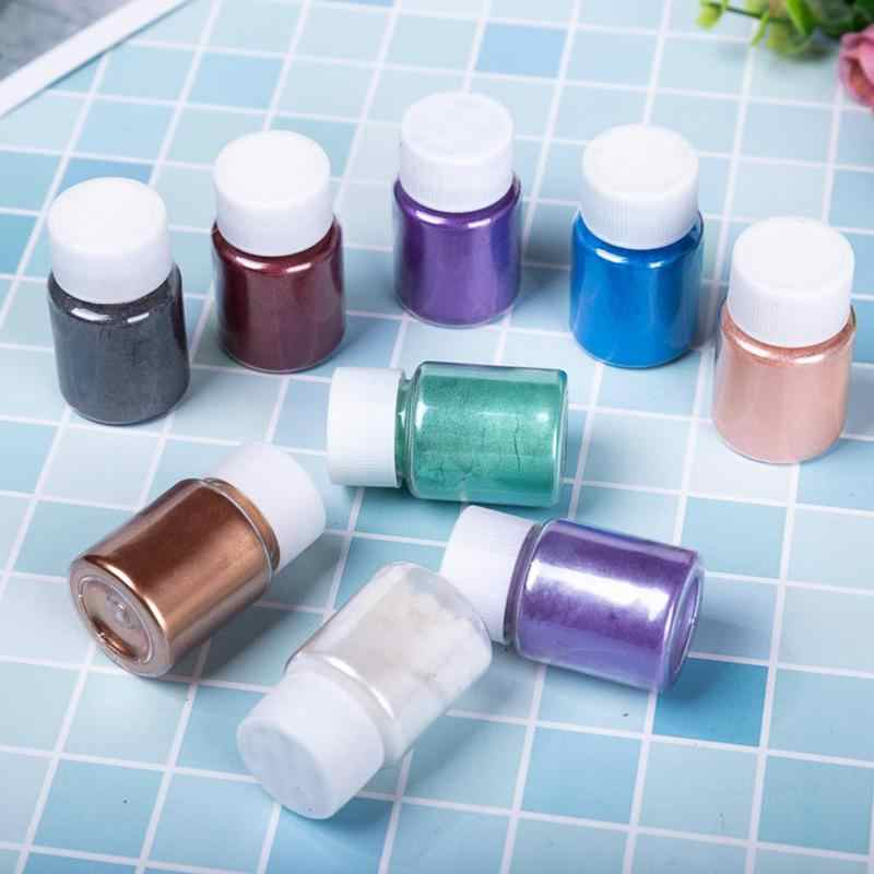 24 Colors Soap Shimmer Powder For Slime Dye Pigments Diy Non-toxic Fruit Flavor Slime Fluffy Foam Clay Antistress Kids Toys