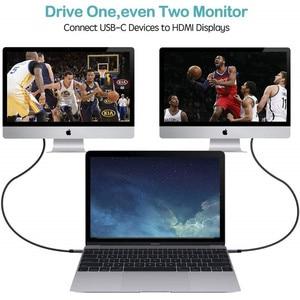Image 5 - USB C Sang HDMI 4K 60Hz Cáp Type C Sang HDMI Thunderbolt 3 Cho Macbook iPad 2018 Huawei P30 P20 Pro Video USB C Cáp HDMI