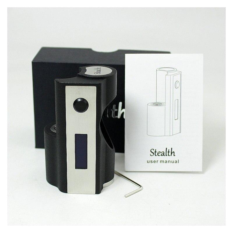 SXK Stealth 60W boîte mod squonk mod vape fit 18650 batterie Mods de cigarettes électroniques - 3