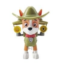 Tracker Paw patrouille-déformation, Everest patrulha canina, jouet de poupée en PVC personnages d'action, modèles, cadeaux pour enfants