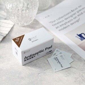 Image 4 - 100 шт., антисептические салфетки для дезинфекции кожи Xiaomi