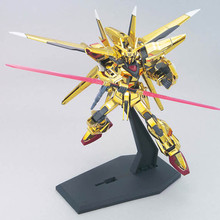 New Anime Gaogao HG 1/144 Mobile Fighter Akatsuki Gundam Oowahi Akatsuki Mobile Suit Included in Base